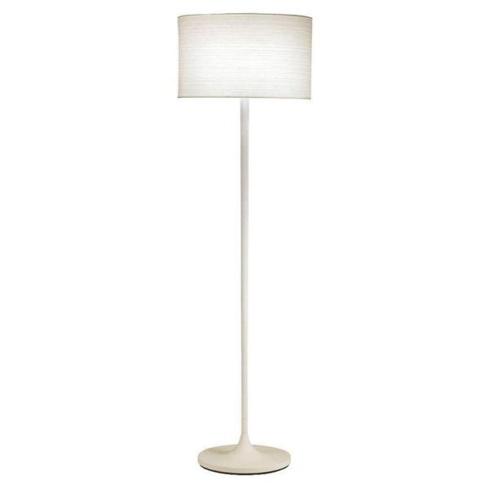 Oslo 60 in. White Floor Lamp