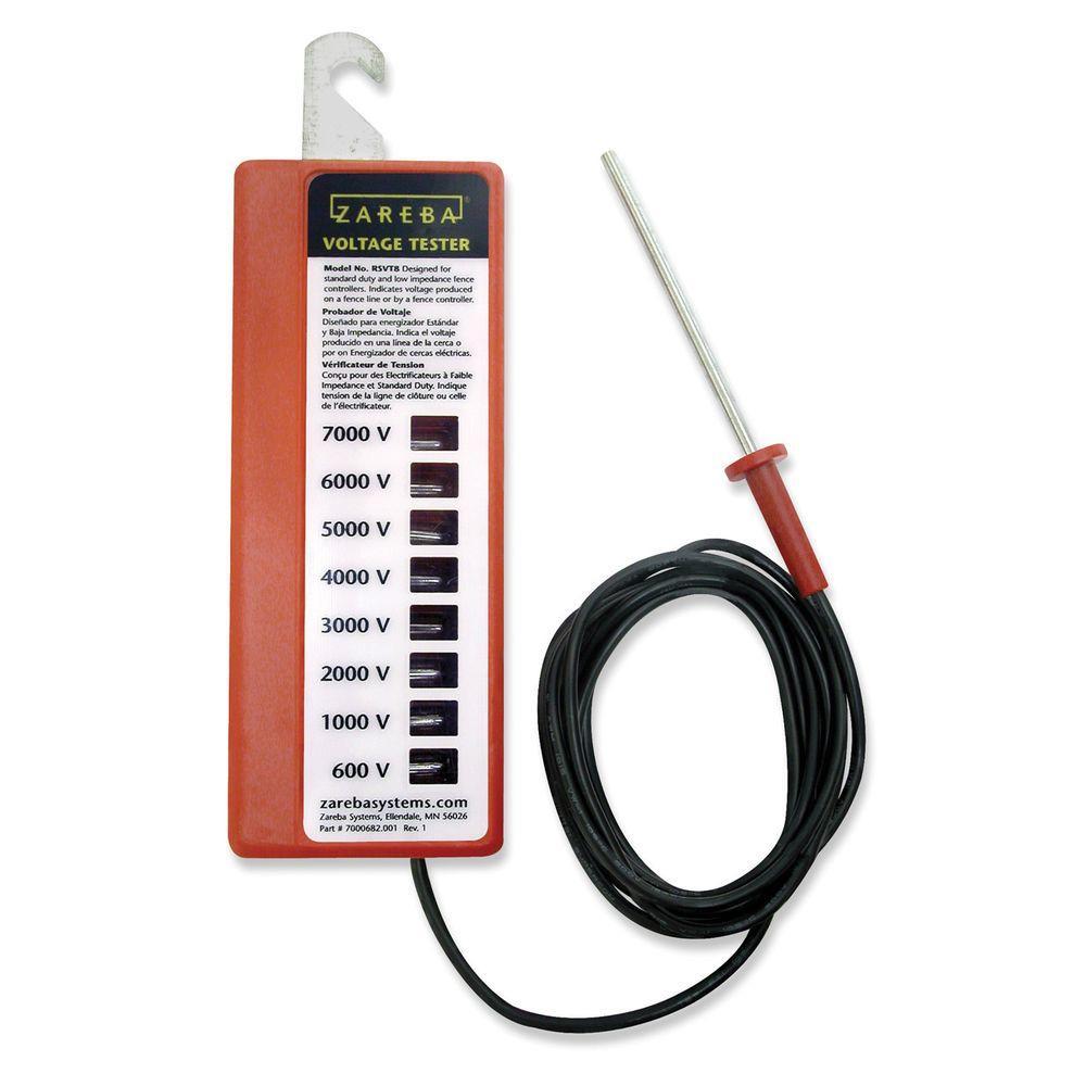 Zareba 8-Light Voltage Tester by Zareba
