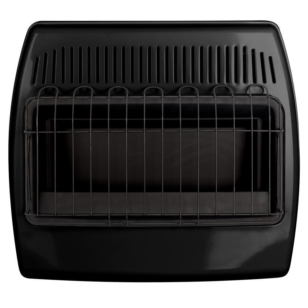 30,000 BTU Blue Flame Vent-Free Thermostatic Garage Heater