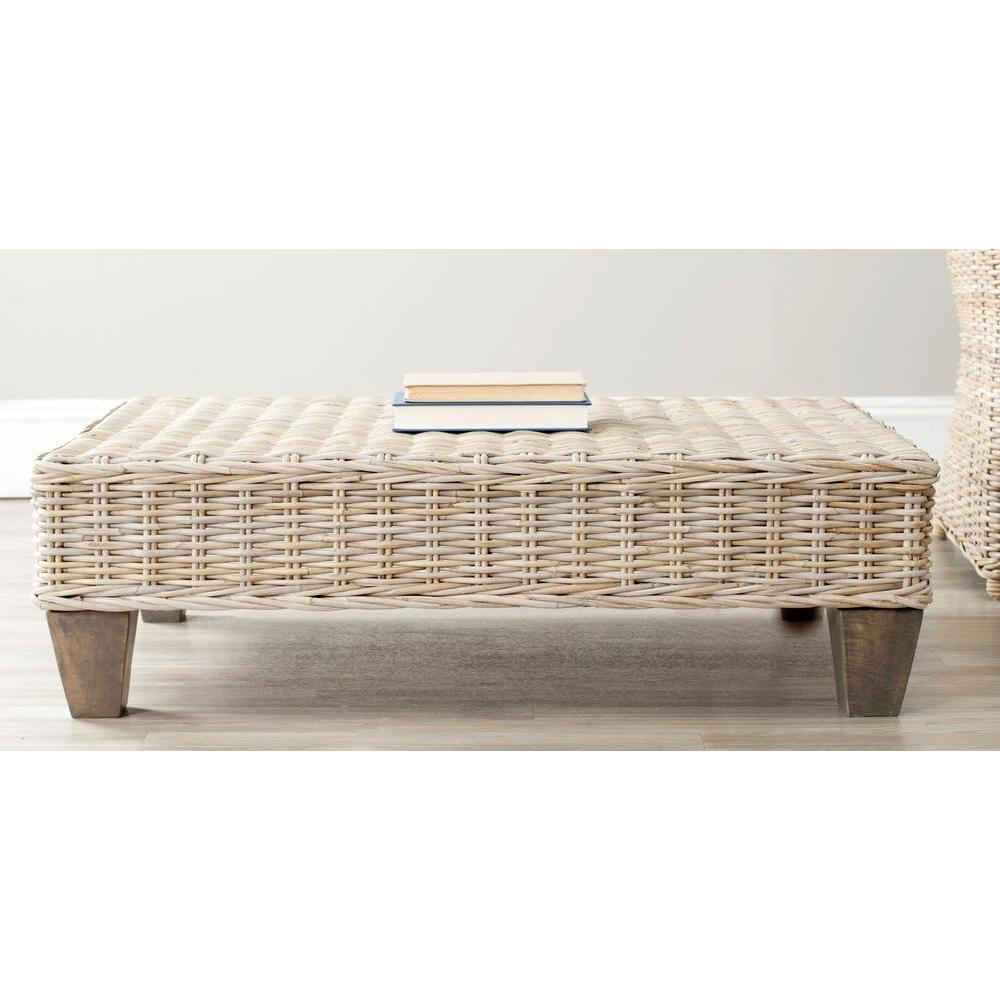 Safavieh Leary Natural Unfinished Bench Fox6528a The Home Depot
