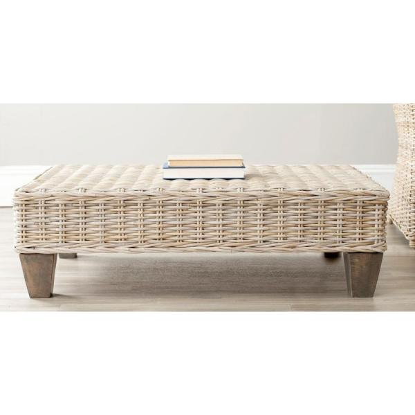 Safavieh Leary Natural Unfinished Bench FOX6528A