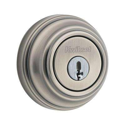 984 Series Double Cylinder Antique Nickel UL Rated Deadbolt