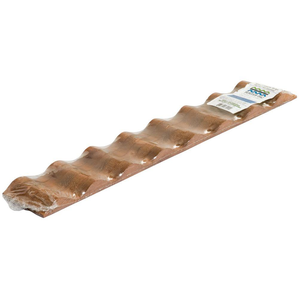 Palruf 24 In Horizontal Wood Closure Strips 5 Pack