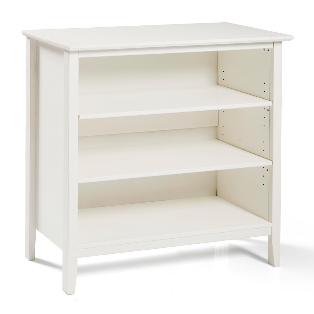 Simplicy White Under Window Bookcase