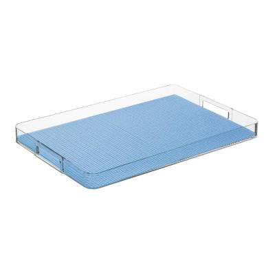 Fishnet Serenity Rectangular Serving Tray