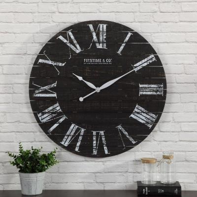 29 in. Midnight Shiplap Clock
