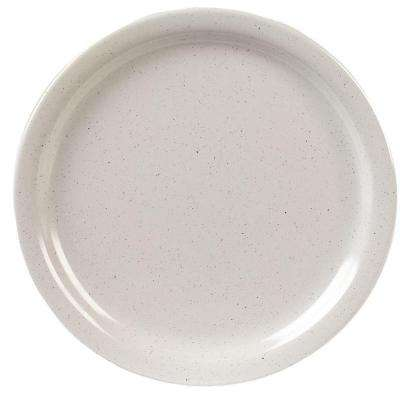 9 in. Diameter, 0.77 in. H Melamine Dinner Plate in Adobe (Case of 48)