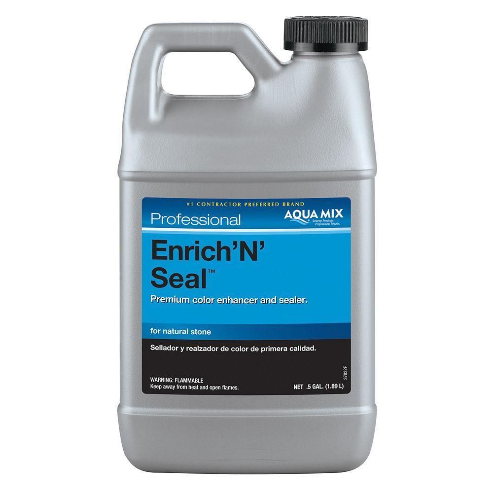 Custom Building Products Aqua Mix Enrich 'N' Seal 1/2-gal. Penetrating Sealer