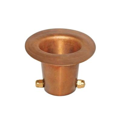 Monarch Pure Copper Gutter Adapter for Rain Chain Installation (Large Size Gutter)