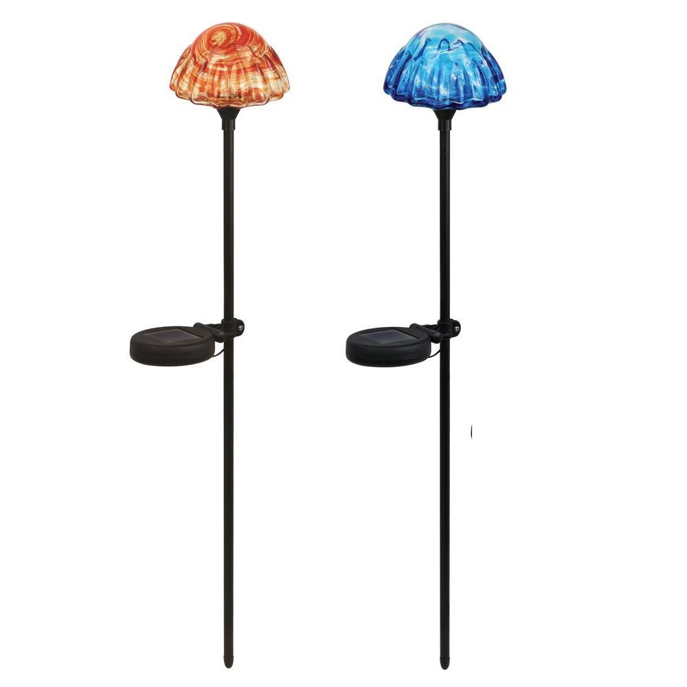 Mushroom Solar Stake Light 2 Pack