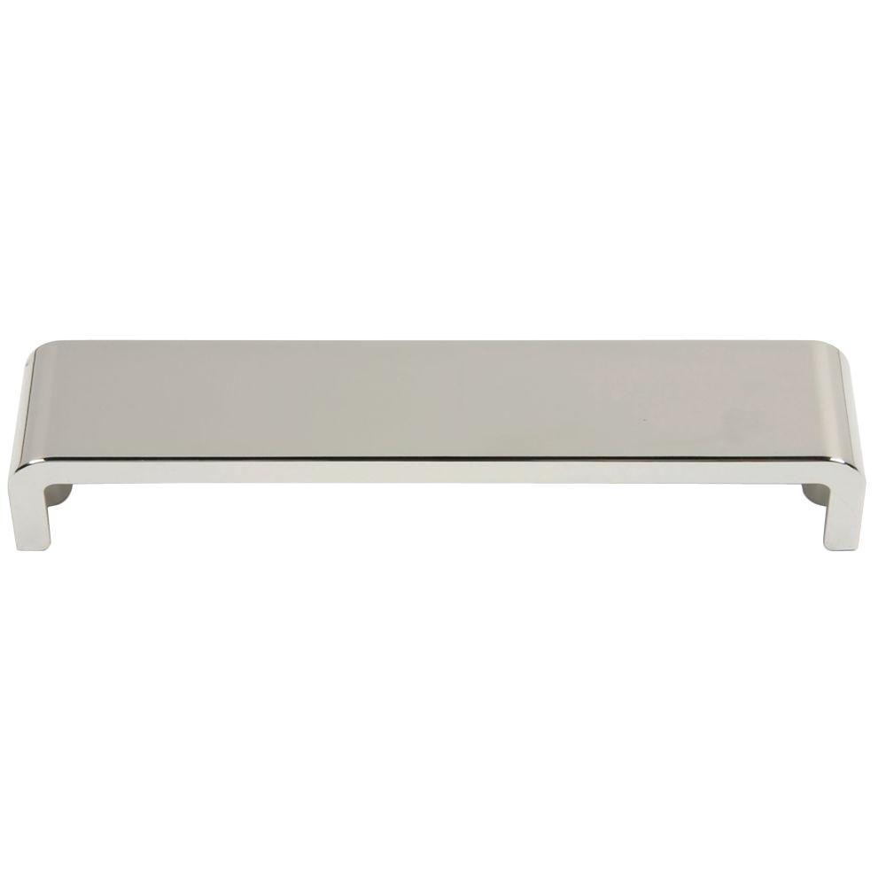 Atlas Homewares Successi Collection Polished Nickel 6.62 in. Platform Pull