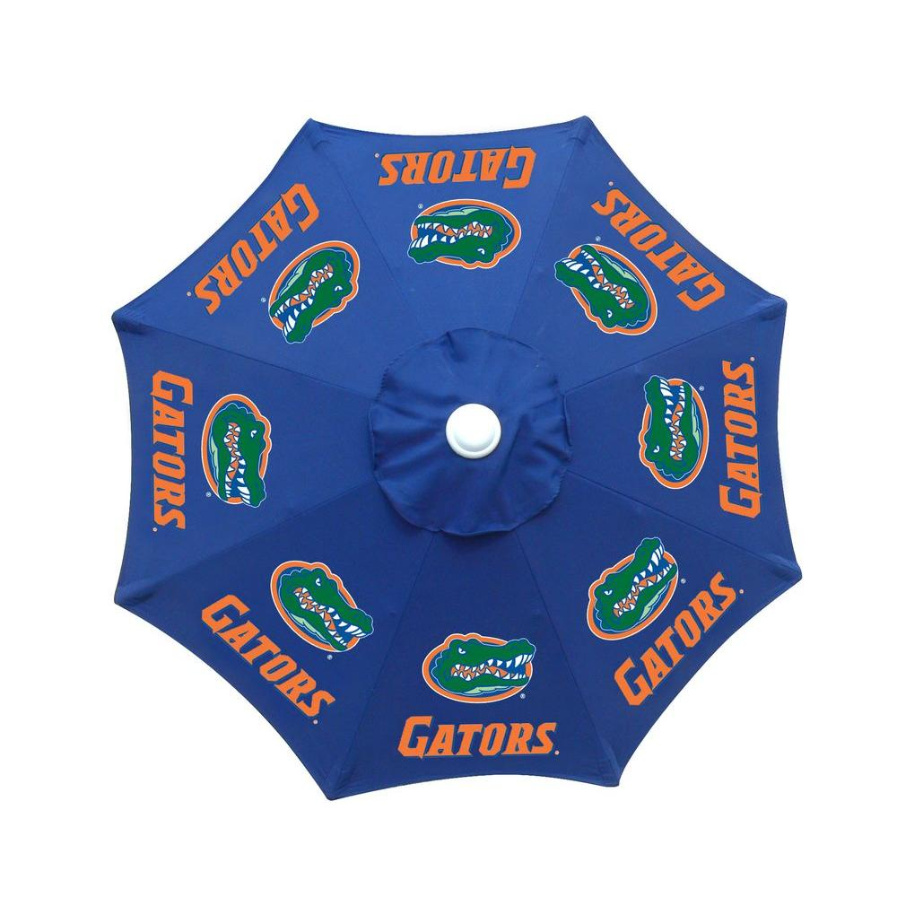 null 9 ft. University of Florida Blue Patio Umbrella