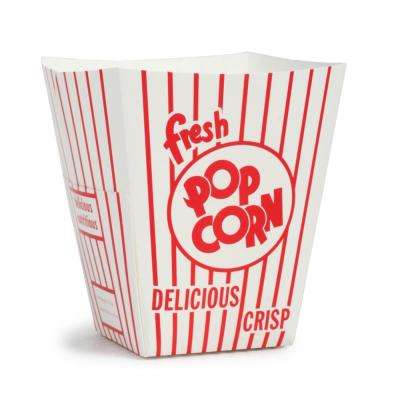 85 oz. Open Top Movie Theater Popcorn Boxes (25-Count)