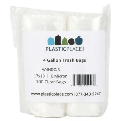 a78fc23e1b0 Ultrasac 45-Gallon Clear Recycling Bags (100-Count)-HMD 719956 - The ...