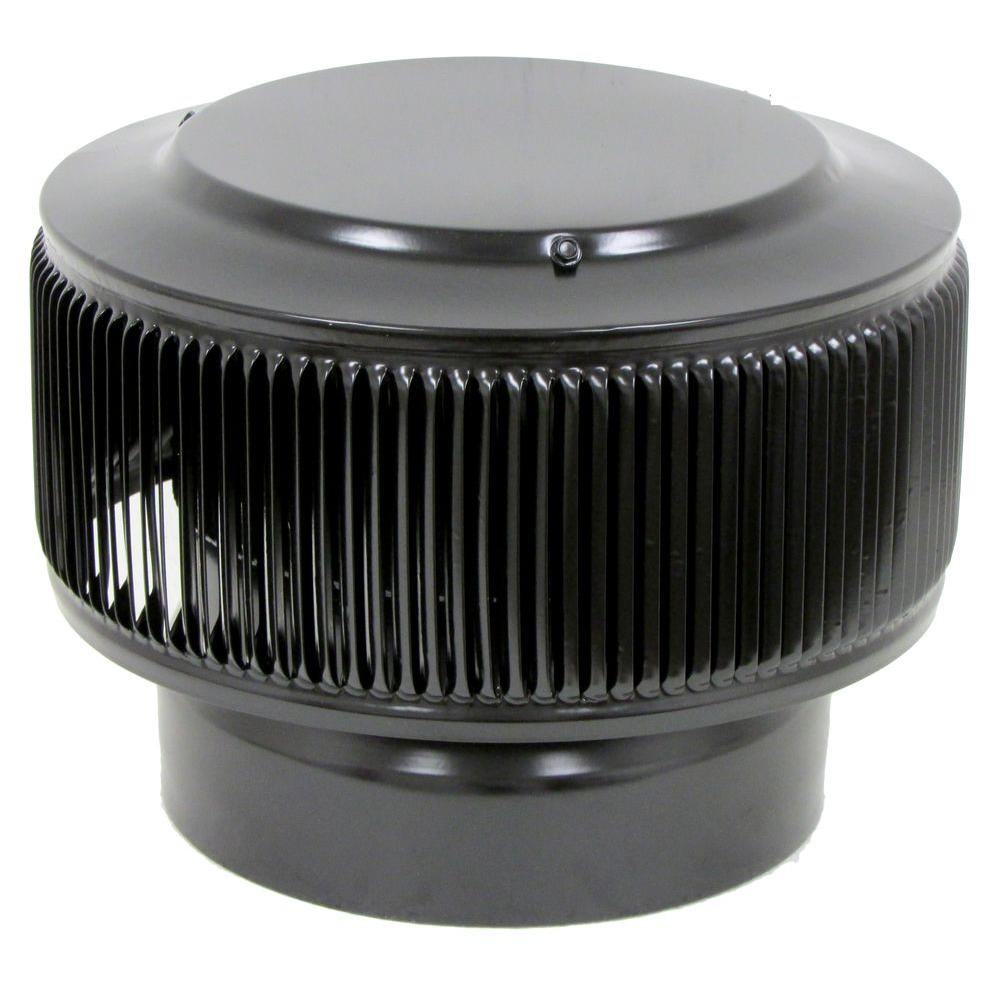 Aura PVC Vent Cap 8 in. Dia Exhaust Vent with Adapter