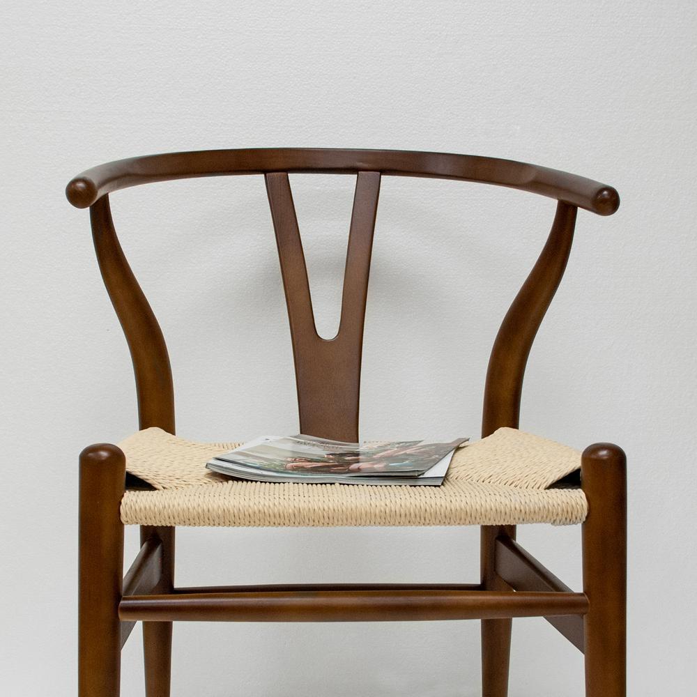 Marvelous Mid Century Modern W Walnut Dining Side Chair Dailytribune Chair Design For Home Dailytribuneorg