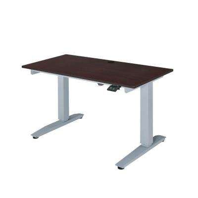 Espresso Bliss Power Lift Writing Desk
