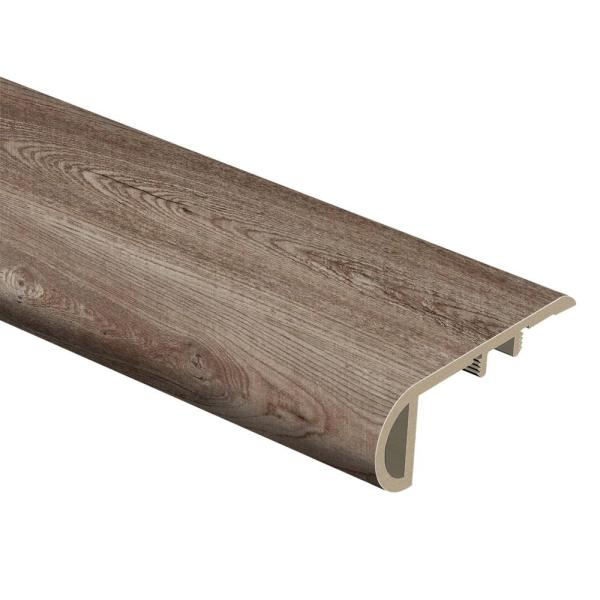 Welcoming Oak 3/4 in. Thick x 2-1/8 in. Wide x 94 in. Length Vinyl Stair Nose Molding