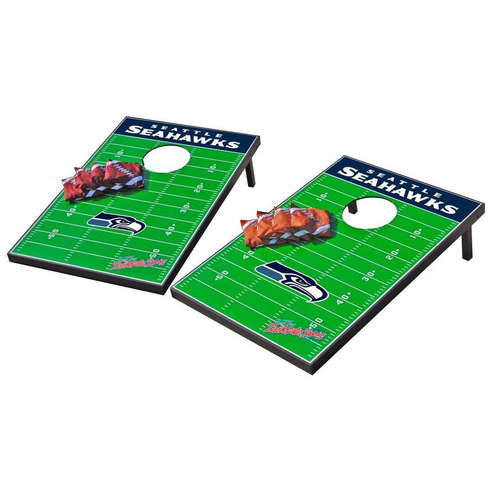 Wild Sports Seattle Seahawks Tailgate Cornhole Toss