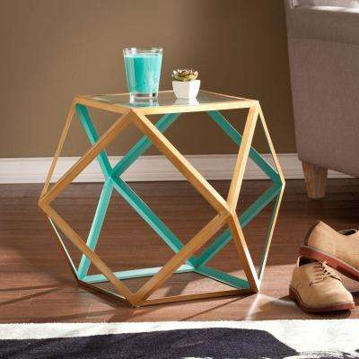 Olivia Champagne End Table