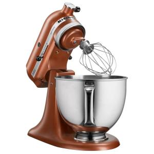 Kitchenaid Artisan Series 5 Qt Tilt Back Head Stand Mixer In Copper