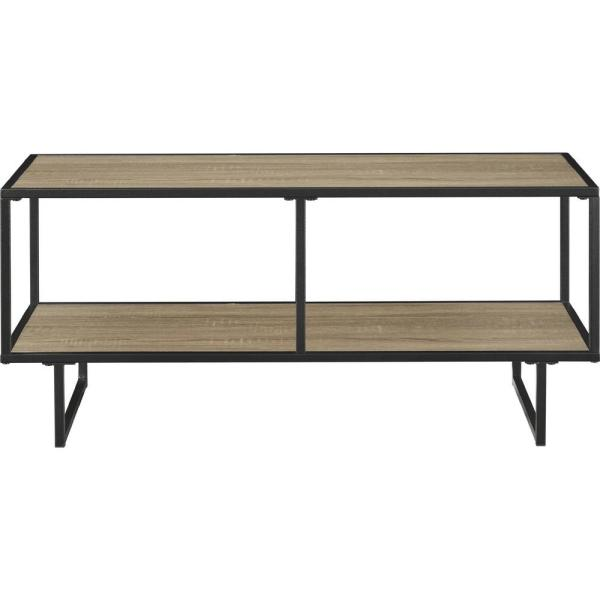 Bolton Weathered Oak 42 in. TV Stand and Coffee Table
