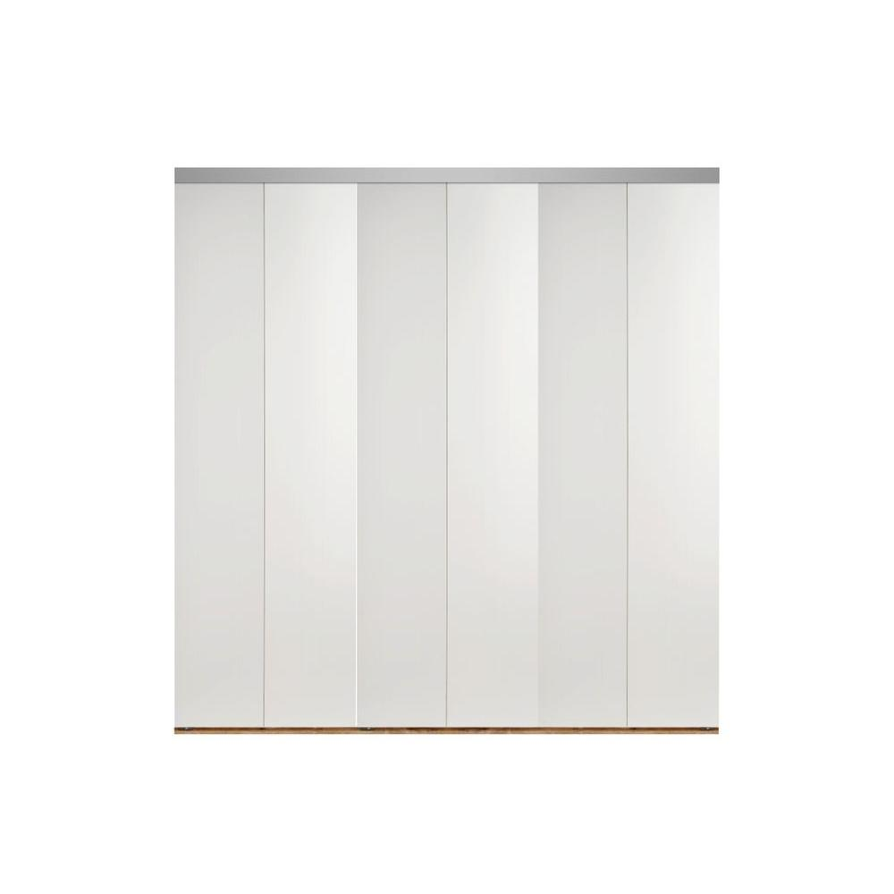 Impact plus 120 in x 80 in smooth flush primed solid for Solid core flush door