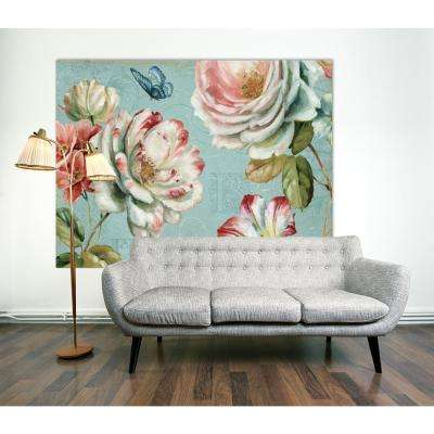 "72 in. x 54 in. ""Spring Romance III  "" by Lisa Audit Printed Framed Canvas Wall Art"