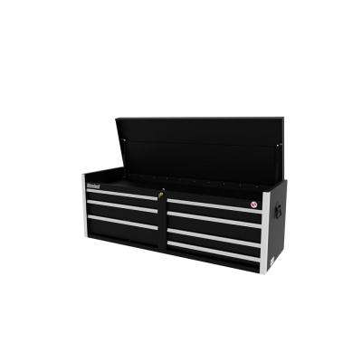 Tech Series 54 in. 7-Drawer Top Chest in Black