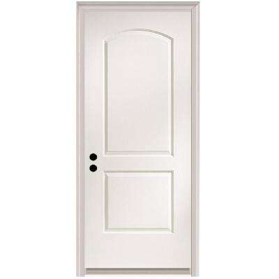32 in. x 80 in. Caiman Right-Hand Primed Composite 20 Min. Fire-Rated House-to-Garage Single Prehung Interior Door