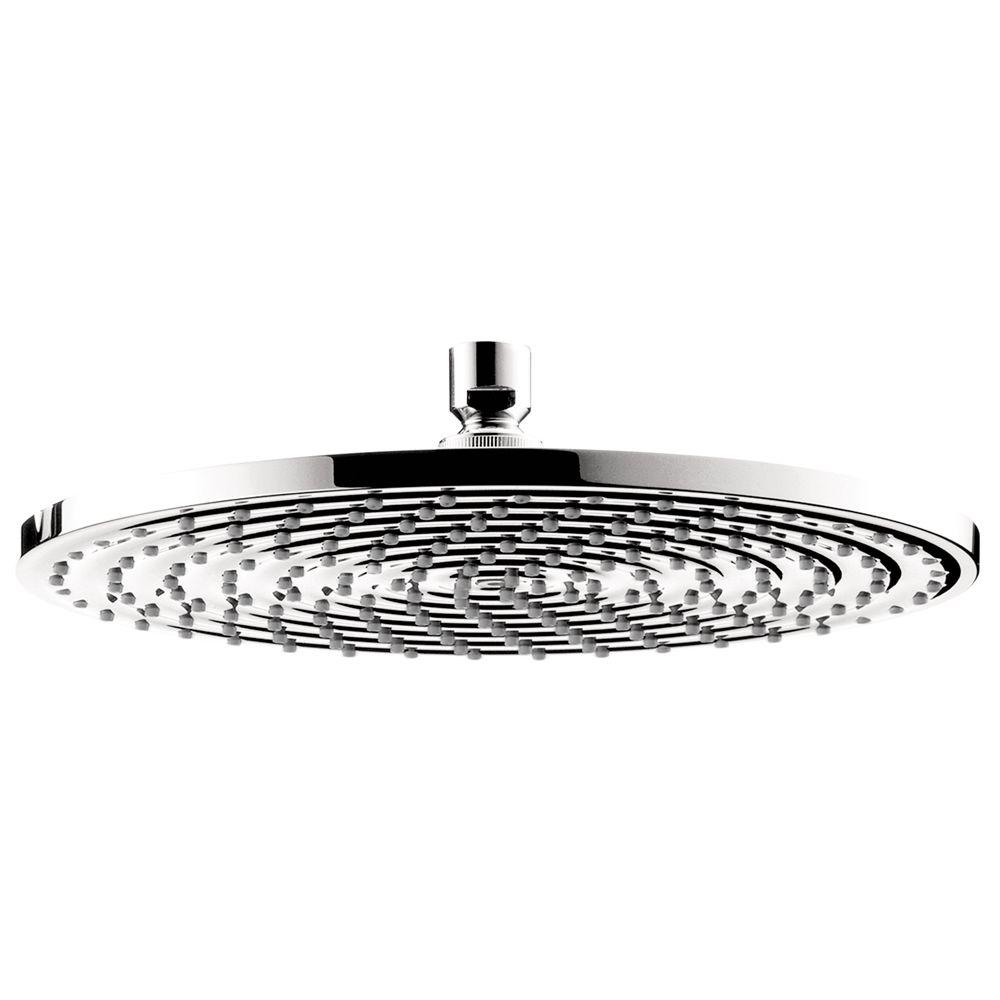 Hansgrohe Hansgrohe Raindance 300 Air 1-Spray 12 in. Showerhead in Chrome, Grey