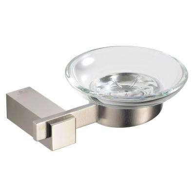 Ellite Soap Dish in Brushed Nickel