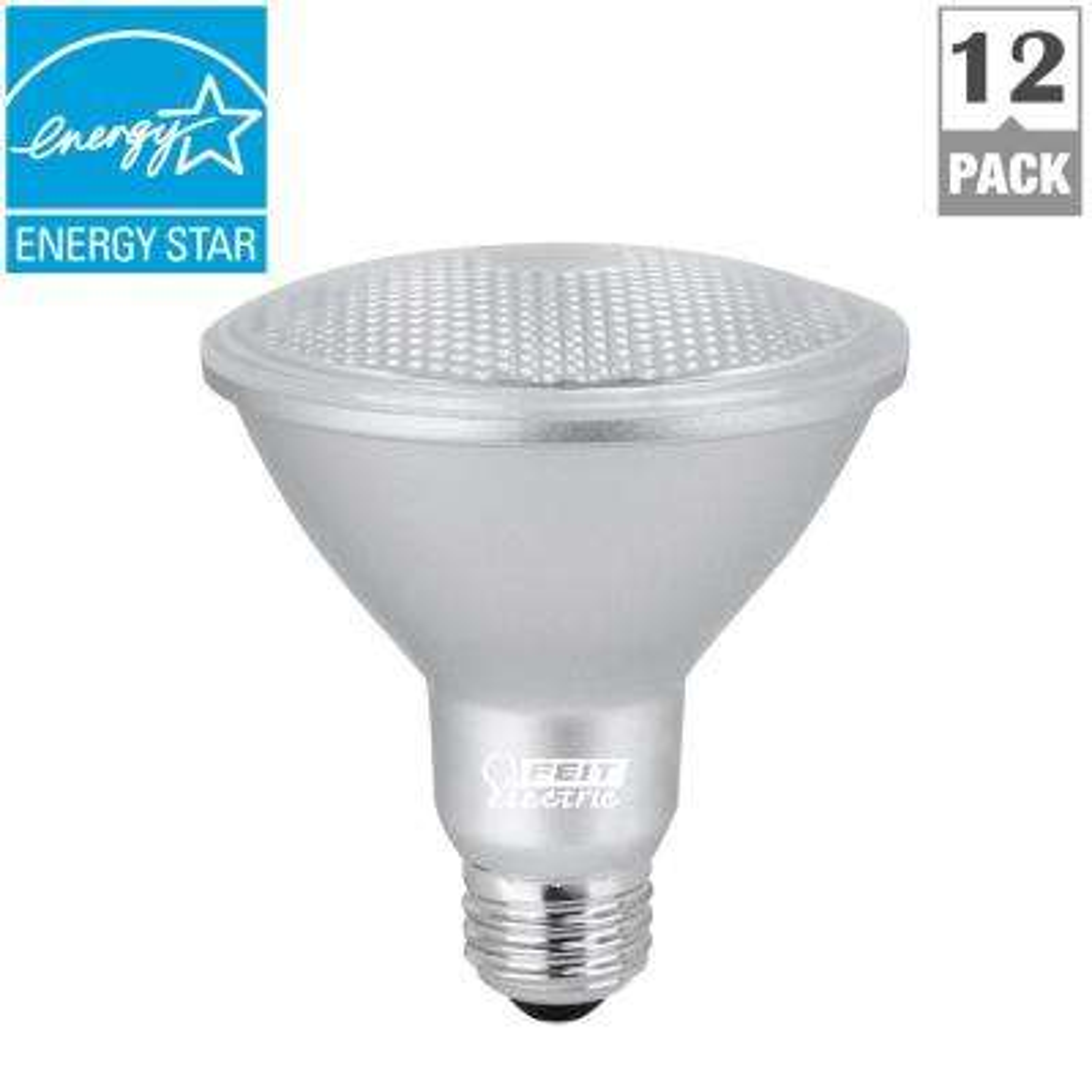 75W Equivalent Daylight (5000K) PAR30S Dimmable Spot LED Light Bulb (Case of 12)