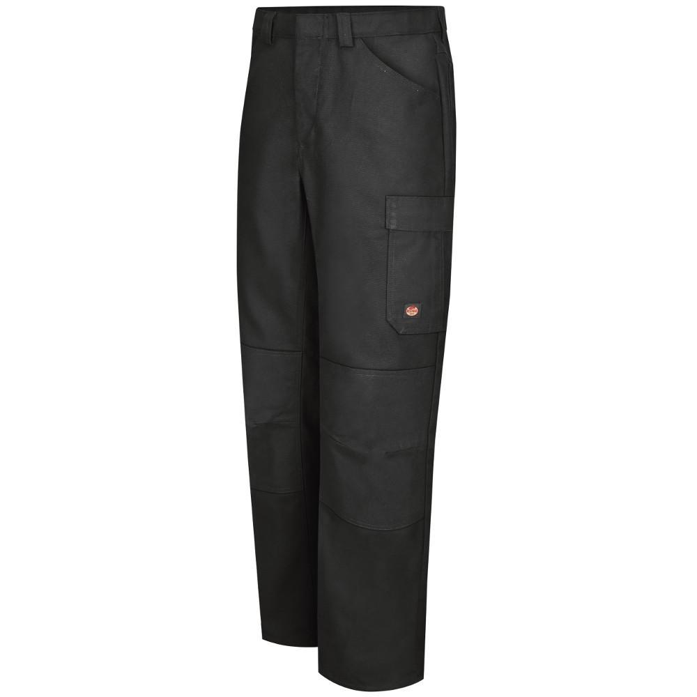 Men's 32 in. x 34 in. Black Shop Pant