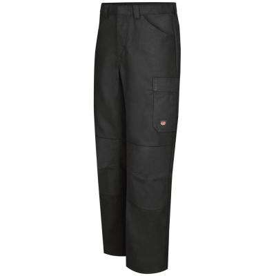 Men's 34 in. x 32 in. Black Shop Pant