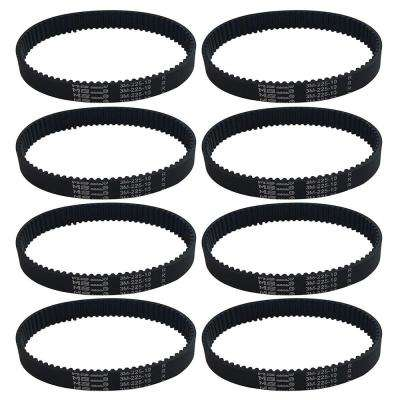 8-Pack Replacement 10 mm Vacuum Belts, Fits Dyson DC17, Compatible with Part 911710-01