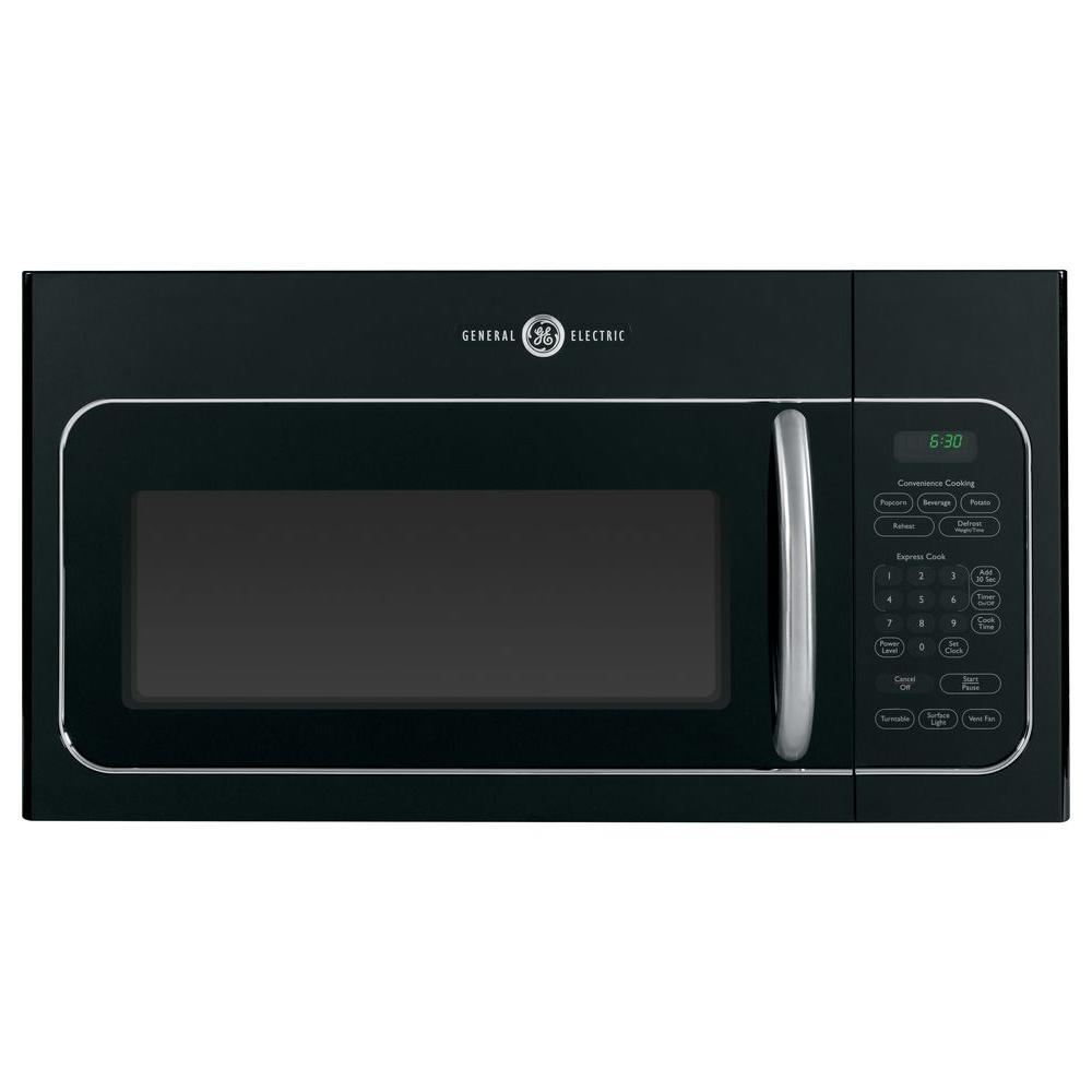 GE Artistry 1.6 cu. ft. Over the Range Microwave in Black