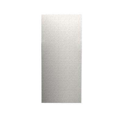 Tangier 1/4 in. x 36 in. x 96 in. One Piece Easy Up Adhesive Shower Wall in Tahiti Matrix