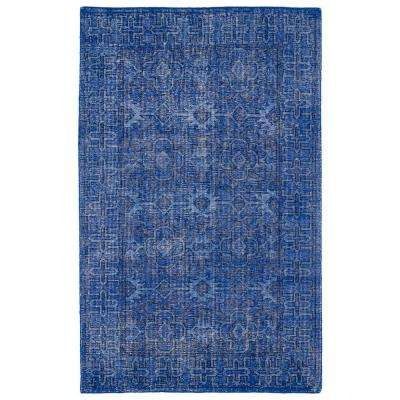Restoration Blue 9 ft. x 12 ft. Area Rug