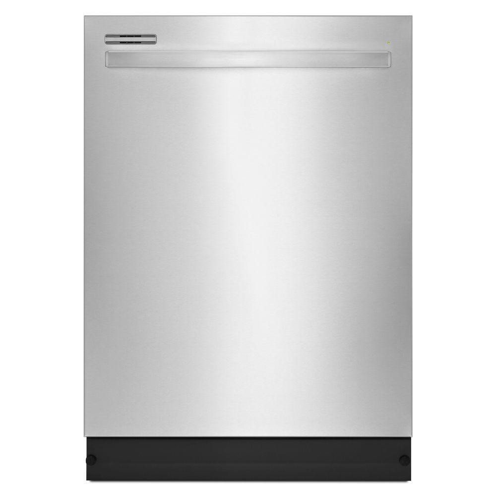 kitchenaid top control built in tall tub dishwasher in printshield rh homedepot com
