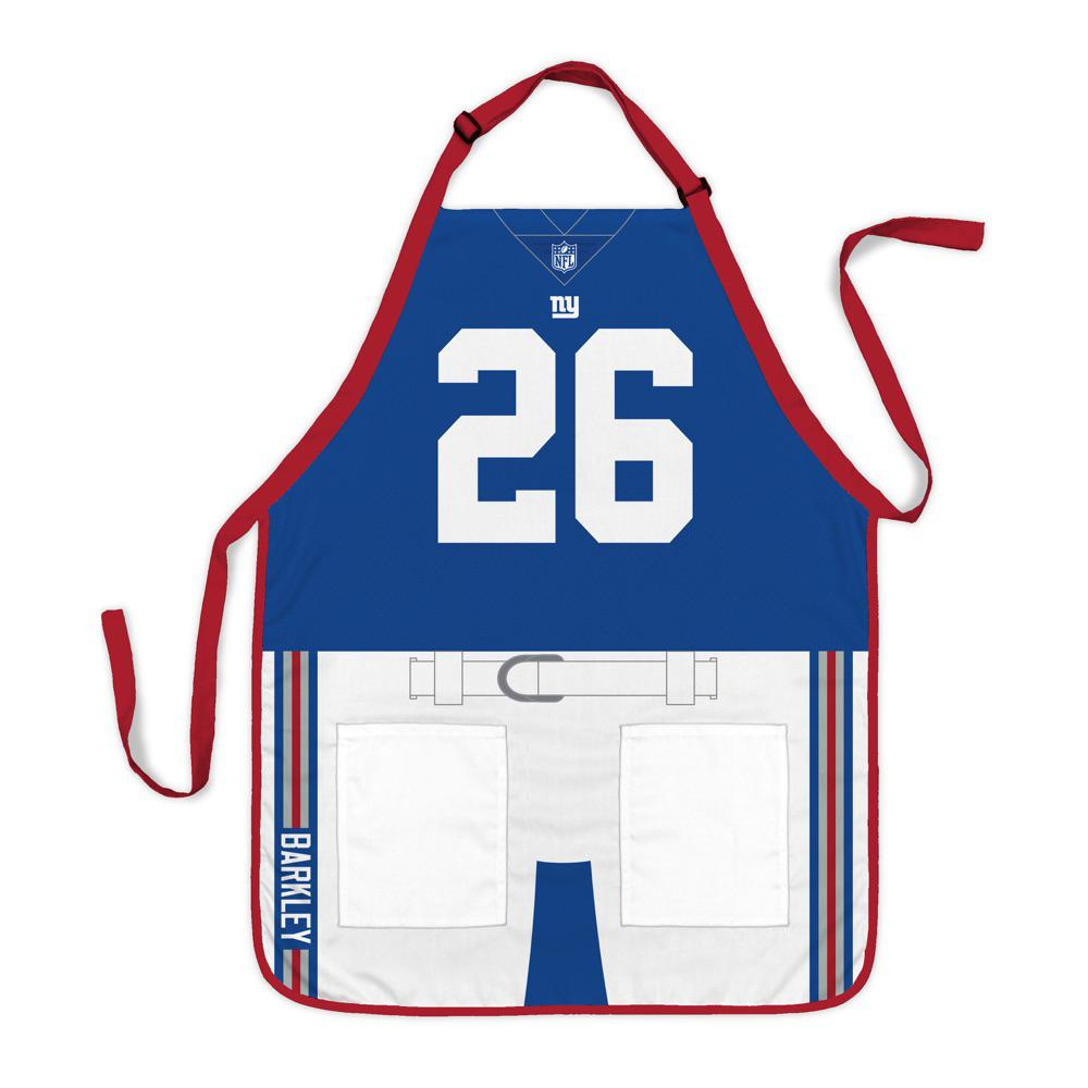 new product 823d4 9e7aa Party Animal Saquon Barkley New York Giants NFL Jersey Apron
