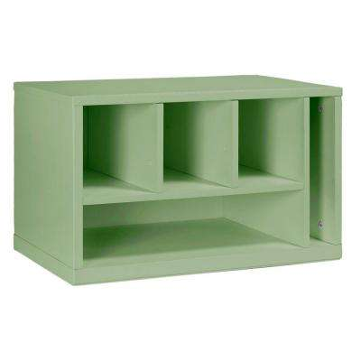 Craft Space 5-Deep Cubby Organizer in Rhododendron Leaf