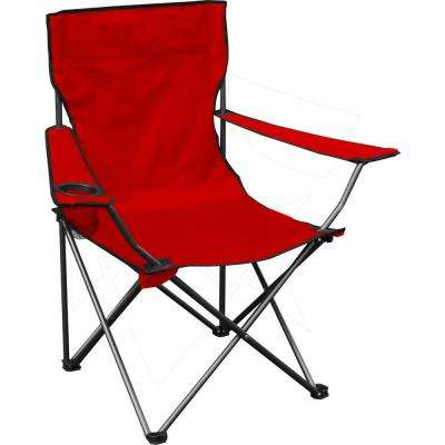 Red Quik Chair Folding Chair