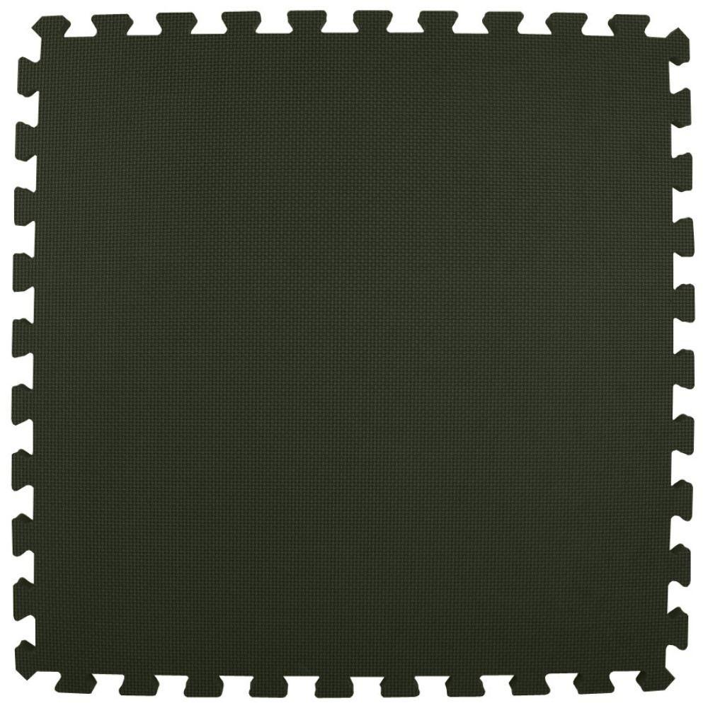 Greatmats Premium Black 24 In X 24 In X 5 8 In Foam Interlocking Floor Mat Case Of 25 Df15bk25 The Home Depot