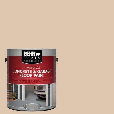 1 Gal. #N250-2 Brazilian Tan 1-Part Epoxy Concrete and Garage Floor Paint