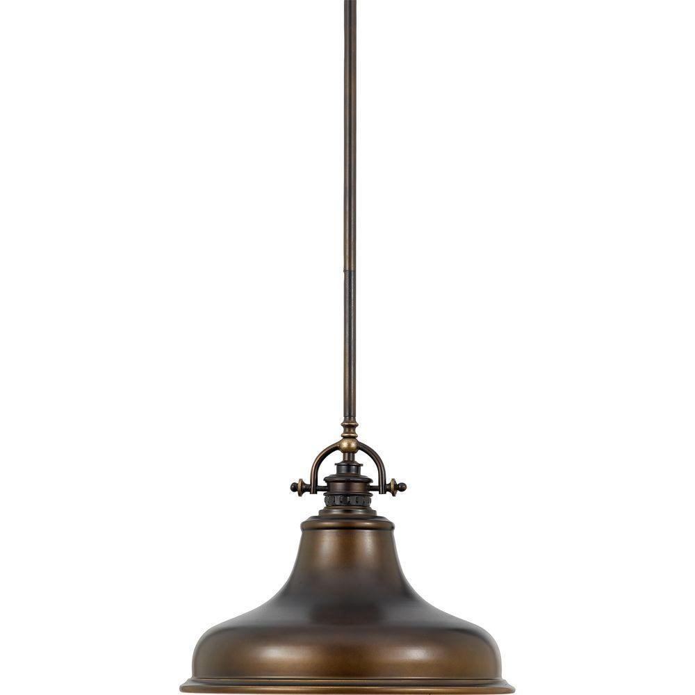 Emery Bronze Pendant