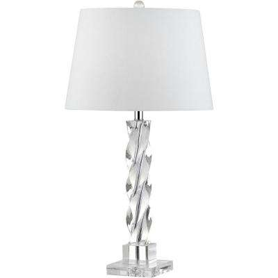 Ice 27.5 in. Clear Palace Crystal Table Lamp