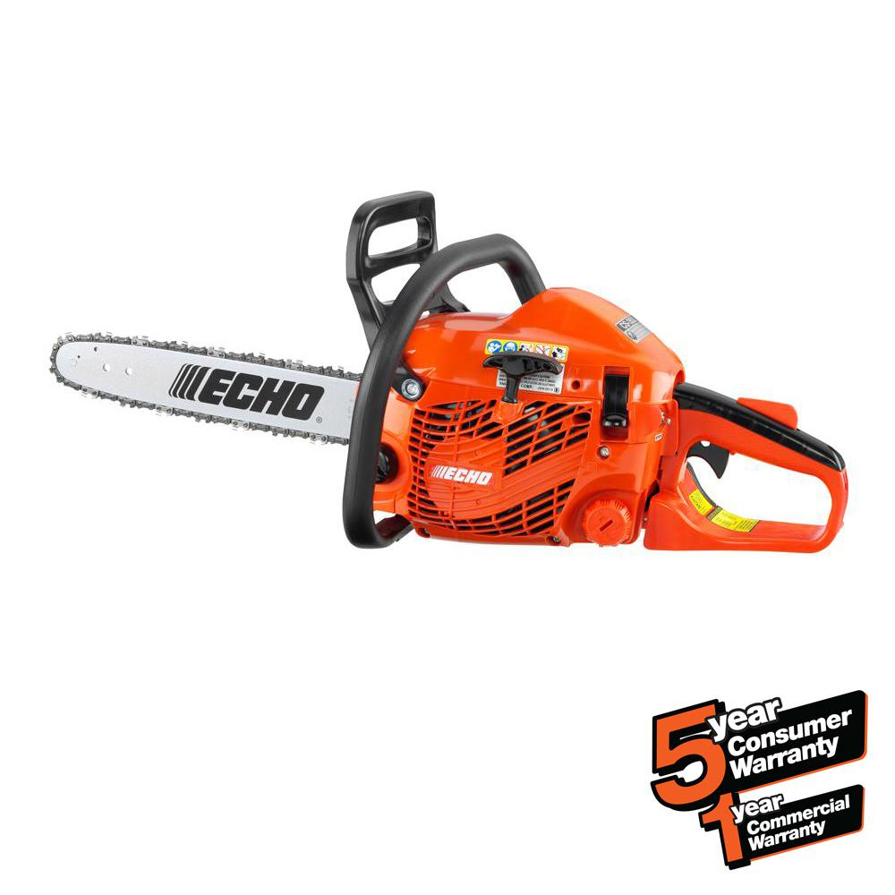 ECHO 16 in. 34cc Gas 2-Stroke Cycle Chainsaw