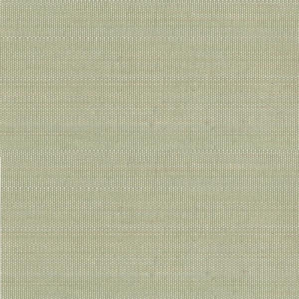 Kenneth James Mitta Light Green Grasscloth Wallpaper