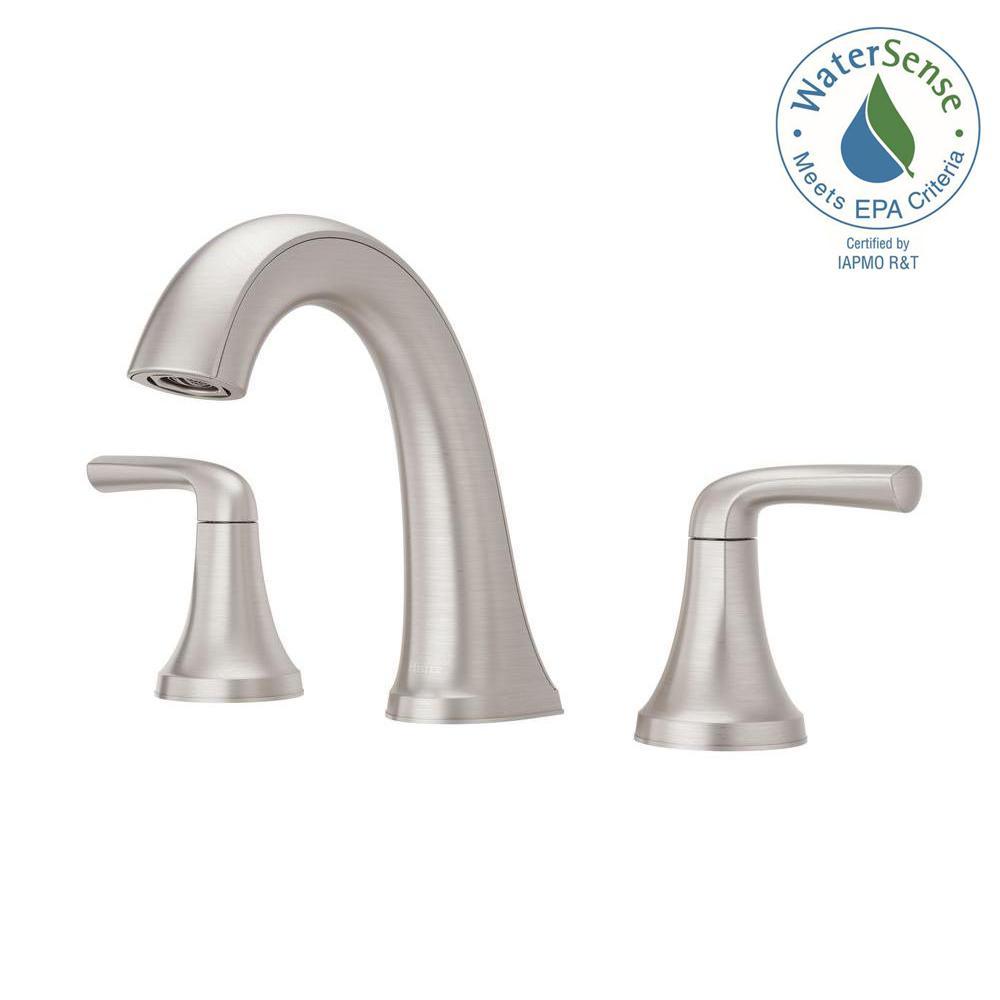 Widespread 2 Handle Bathroom Faucet